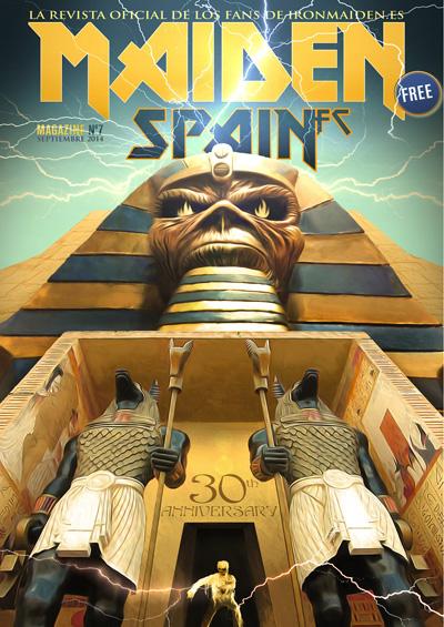 Portada: Magazine 7 MaidenSpainFC