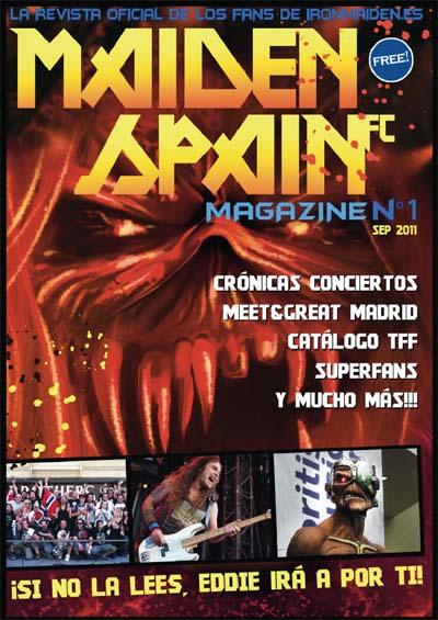 Portada: Magazine 1 MaidenSpainFC